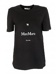 [관부가세포함][에스 막스마라] FW20 여성 the cube 티셔츠 (99760103 650 002)