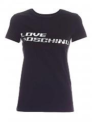 [관부가세포함][러브모스키노] FW20 여성 반팔 티셔츠 (W 4 F73 1A M 3876 C74)
