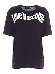 [관부가세포함][러브모스키노] FW20 여성 반팔 티셔츠 (W 4 F87 36 M 3876 C74)