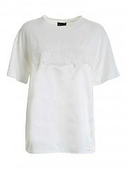 [관부가세포함][에르마노 바이 에르마노 설비노] FW20 여성 반팔 티셔츠 (47 T TS17 00249)