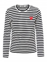 [관부가세포함][꼼데가르송] FW20 여성 긴팔 티셔츠 (P1T1631)