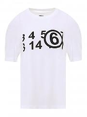 [관부가세포함][메종 마르지엘라] FW20 여성 반팔 티셔츠 (S62GD0071 S23588 100)