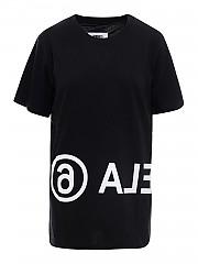 [관부가세포함][메종 마르지엘라] FW20 여성 반팔 티셔츠 (S52GC0119 S23588 900)