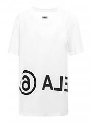 [관부가세포함][메종 마르지엘라] FW20 여성 mm6 cotton 티셔츠 (S52GC0119 S23588 100)