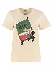 [관부가세포함][랑방] FW20 여성 반팔 티셔츠 (RW-TO682JJ-R31A-20 02)