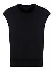 [관부가세포함][톰포드] FW20 여성 sleeveless cotton 티셔츠 (FLJ004FAX769LB999)