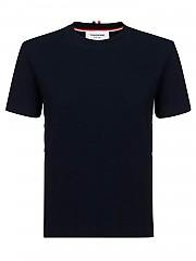 [관부가세포함][톰브라운] FW20 여성 ribbed cotton 티셔츠 (FJS065A-06313 415)