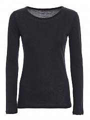 [관부가세포함][마제스틱 필라쳐] FW20 여성 캐시미어 티셔츠 (M005-FTS008 003)
