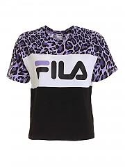 [관부가세포함][휠라] FW20 여성 반팔 티셔츠 (687973 A814)