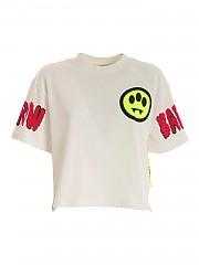 [관부가세포함][배로우] FW20 여성 크롭 반팔 티셔츠 (028027 002)