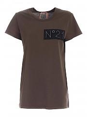 [관부가세포함][N° 21] FW20 여성 반팔 티셔츠 (20I N2M0 F031 6314 5364)