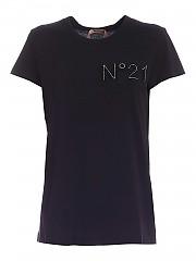 [관부가세포함][N° 21] FW20 여성 반팔 티셔츠 (20I N2M0 F031 6314 9000)