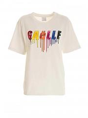 [관부가세포함][가엘 파리] FW20 여성 반팔 티셔츠 (GBD7116 OFF WHITE)