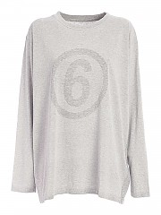 [관부가세포함][메종 마르지엘라] FW20 여성 logo long sleeve 티셔츠 (S52GC0161 S23588 858M)