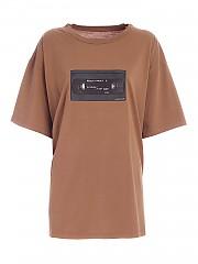 [관부가세포함][메종 마르지엘라] FW20 여성 front print 티셔츠 (S32GC0580 S23588 132)