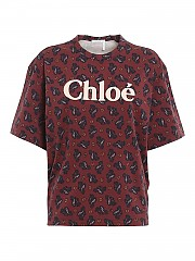 [관부가세포함][끌로에] FW20 여성 반팔 티셔츠 (CHC20WJH1328927MS)