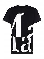 [관부가세포함][메종 마르지엘라] FW20 여성 logo printed 티셔츠 (S51GC0496 S22816 900)