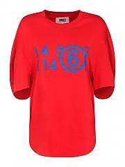 [관부가세포함][메종 마르지엘라] FW20 여성 logo jersey 티셔츠 (S62GD0071 S23588 312)