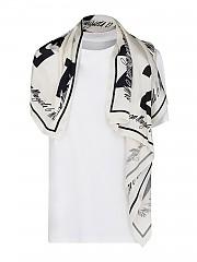 [관부가세포함][메종 마르지엘라] FW20 여성 scarf detailed 티셔츠 (S32GC0574 S23588 964)
