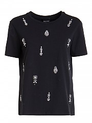 [관부가세포함][에르마노 바이 에르마노 설비노] FW20 여성 반팔 티셔츠 (TTS18JEA00099)
