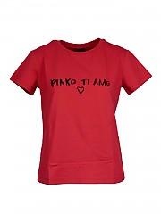 [관부가세포함][핀코] FW20 여성 티셔츠 (1G15GBY4LXR24)