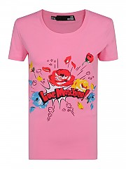 [관부가세포함][러브모스키노] SS21 여성 반팔 티셔츠 G(W4H1905E1951N35)