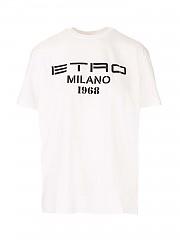 [관부가세포함][에트로] SS21 여성 반팔 티셔츠 (1451794680990)