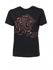 [관부가세포함][겐조] SS21 여성 반팔 티셔츠 (FB52TS8484SA99)