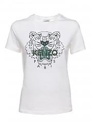 [관부가세포함][겐조] SS21 여성 tiger 티셔츠 (FB52TS8464YB01B)
