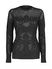 [관부가세포함][에르마노 설비노] SS21 여성 티셔츠 (D385M303CVE95708)