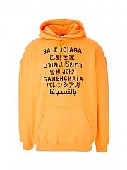 [관부가세포함][발렌시아가] SS21 여성 후드 티셔츠 (578135TJVI67513)