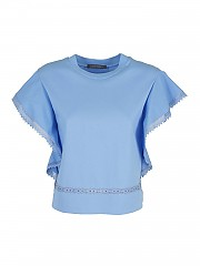 [관부가세포함][알베르타 페레티] SS21 여성 반팔 티셔츠 (120116600303)