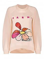 [관부가세포함][마르니] SS21 여성 맨투맨 스웨트셔츠 (FLJE0107P1USCR1800C29)