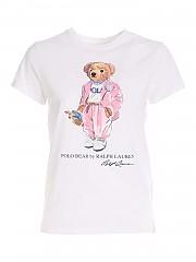 [관부가세포함][폴로 랄프로렌] SS21 여성 반팔 티셔츠 (211838100001)