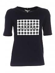 [관부가세포함][타미힐피거] SS21 여성 반팔 티셔츠 (WW0WW30654DW5)