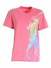 [관부가세포함][폴로 랄프로렌] SS21 여성 반팔 티셔츠 (211838145001)