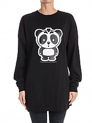 [관부가세포함][니코판다] Unisex t-shirt (FW17TP11-BLK BLACK)