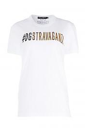 [관부가세포함][돌체앤가바나] SS18 여성 반팔 티셔츠 G(F8H50ZFH7V7 HWR07)