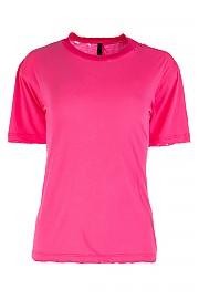 [관부가세포함][언라벨] SS19 여성 티셔츠 G(UWAA016R192080032800 FUCHSIA)