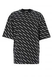 [관부가세포함][발렌시아가] 여성 반팔 티셔츠 G(570813TEV54 1000)