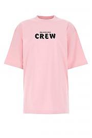 [관부가세포함][발렌시아가] FW20 여성 반팔 티셔츠 G(620941TIVG9 1900)
