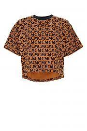 [관부가세포함][엠씨엠] FW20 여성 반팔 크롭 티셔츠 G(MFTAAMD01 C4)