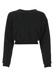 [관부가세포함][아레아] FW20 여성 크롭 맨투맨 스웨트셔츠 G(PF20T11050 BLACK)