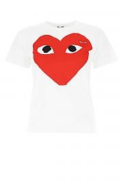 [관부가세포함][꼼데가르송 플레이]  여성 티셔츠 G(P1T025 001)
