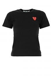 [관부가세포함][꼼데가르송 플레이]  여성 티셔츠 G(P1T287 001)
