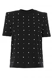 [관부가세포함][에이맨] FW20 여성 반팔 티셔츠 G(ACW20215 BLACK)