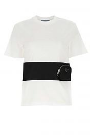 [관부가세포함][프라다] FW20 여성 반팔 티셔츠 G(135684S2021XBH F0964)