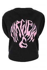 [관부가세포함][메종 마르지엘라] FW20 여성 프린팅 민소매 티셔츠 G(S62GD0073S23588 900)