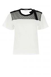 [관부가세포함][레드발렌티노] SS21 여성 반팔 티셔츠 G(VR3MG08W5Q2 A01)