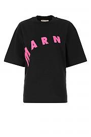 [관부가세포함][마르니] SS21 여성 반팔 티셔츠 G(THJET49EPFUSCR13 00N99)